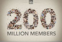 FOCUS on LinkedIn / Collection of infographics that focus on LinkedIn / by Rika Ng
