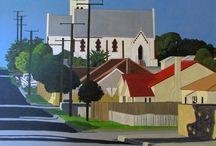 Landscape paintings and other bits.... / Original art work by Kate McLaren  For details visit: katemclaren.com
