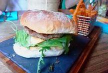 Auswärts / Burger, BBQ und mehr auswärts gegessen...