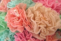 {Crepe Paper.} / Things you can make with crepe paper.