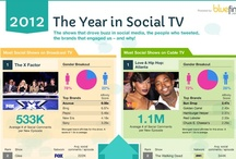 Year-in-Review: Social TV Infographics / by Social TV Digest