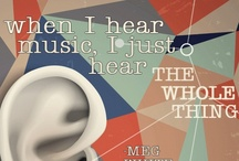 Music Therapy Quotes / Inspiration through the power of music!  These quotes inspire what we do as music therapists working with children who have autism and other special needs.