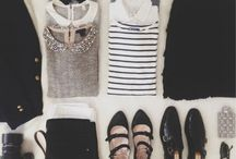 style notes - existing wardrobe ideas / by Marion Elissalde