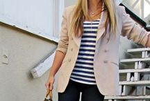 Love Fashion / Fashion I love... Mix of girl next door, beach look, Parisian Style