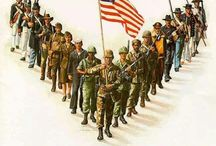Holiday - 4th of July/Veterans/Memorial Day / by Audra Omlie