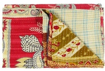 Wonderful sari bedspreads
