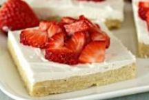 Desserts to Die For / From simple and delicious cookies and cakes to surprising and decadent cheesecakes and pies, be sure to save room for these dessert recipes!  / by Right@Home