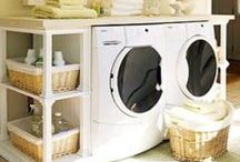 Laundry room / by Desirae Ball