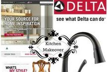 Inspired Living / Inspiration and design ideas for my Mini Kitchen Makeover!  #DeltaFaucetInspired #Touch2O / by The Fashionable Housewife