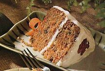 Carrot Cake / Carrot cakes to try (and have tried)