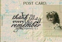 iPost / Like photographs, postcards are reminders of wonderful memories.
