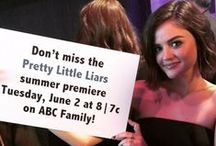 Pretty Little Liars at the ABC Family Upfront!