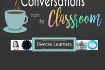Diverse Learners / A collection of ideas for special education and gifted and talented students | Activities and ideas for diverse learners, students with special needs, and differently- abled children | Tips for children with learning disabilities, autism, and more.