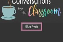 Conversations From the Classroom Blog / Check here for all the latest blog posts and updates from Conversations From the Classroom!