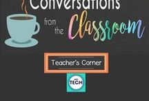 Teacher's Corner / This is a collection of ideas that any teacher can appreciate. If you're looking for classroom decor inspiration, behavior management resources, school technology, tips for teaching, or anything education- related, then this is the board for you!