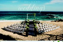 Modern simple wedding ideas in Cabo / Classy never gets old! Check out in our board how modern combines with beach and sand, creating chic settings for a perfect wedding in Cabo! Get amazing ideas a your modern wedding.