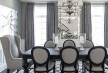 99+ Black And White Dining Room Design Ideas / 99+ Black And White Dining Room Design Ideas