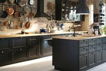 Amazing Black Kitchen Cabinets on Trend for 2018 / Amazing Black Kitchen Cabinets on Trend for 2018