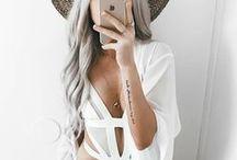 white straps