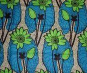 African WAX fabric tissue