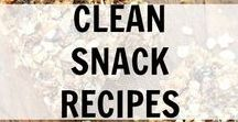 Clean Snack Recipes / Clean Snack Recipes and Ideas. Clean Eating really good, real food.