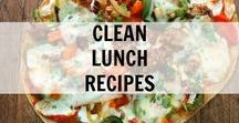 Clean Lunch Recipes / Clean Lunch Recipes and Ideas. Clean Eating really good, real food.