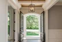 Entryways / entryways, home entry, entry, entry ideas, entryway ideas, entry inspiration, entryway inspiration, staircase, stairs, welcome, entryway lighting, entry lighting, entryway lights, entry lights, home entry inspiration, home entry ideas, table styling, console table styling,