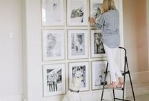Gallery Walls / gallery wall, gallery wall ideas, gallery wall inspiration, black and white photos, black and white gallery wall, black and white gallery wall ideas, home gallery, home gallery wall, family pictures, home pictures, wall styling, gallery wall layout, living room gallery wall, staircase gallery wall, gallery wall around TV, eclectic gallery wall, gallery wall printables