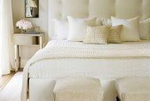 Bedrooms / bedrooms, guest bedroom, bedroom inspiration, bedroom ideas, neutral bedroom, bedroom decor, white bedroom, restoration hardware, bedding, white bedding, bed, nightstand, bedroom furniture, pottery barn,