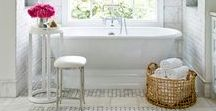 Master Bathrooms / master bathroom, master bathrooms, master bathroom ideas, master bathroom design, master bathroom inspiration, master bathroom decor, marble, marble countertops, luxury master bathroom, elegant master bathroom, elegant bathroom,