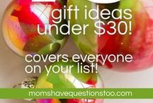 Gift ideas / Gift ideas for nearly every person and every occasion