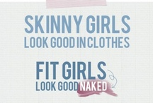 I hate skinny people / by Gretchie