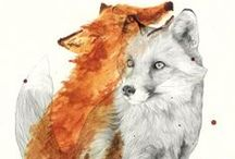 W a t e r c o l o r / by Katy fon Forest