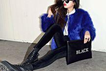 BLUE SKY ▲ / Blue / Bleu / Colors / Girls / Love / Woman / Style / Fashion / Clothes / Sky / Life /