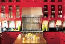 Home - Kitchens / Kitchens, counters, storage, pantries, dining areas, etc / by Jodi