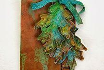 Fall cards/tags / by Debi Pursley
