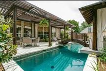 Outdoors - Pools & Hot Tubs / Pools, hot tubs, splash pads, and other swimming areas for the backyard.