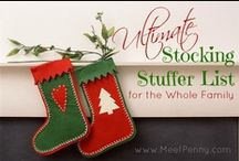 Christmas - Stockings / Stockings to make and hang... and ideas for filling them!