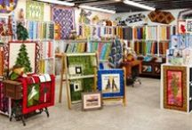 Quilt Shops We <3: West / Check out one of these quilt stores next time you're on the West Coast. / by American Patchwork & Quilting