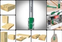 Straight Flutes / by Woodford Woodworking Tools and Machines UK.