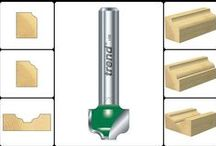 Ogee Panel Cutters / by Woodford Woodworking Tools and Machines UK.