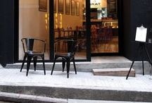 stores and cafés