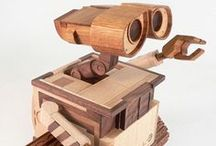 Wooden Toys: Kids wana play. / Wooden toys, pieces, turnings etc. we've liked most... / by Woodford Woodworking Tools and Machines UK.