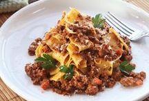Recipes - Pasta, Pizza, Rice, Noodles