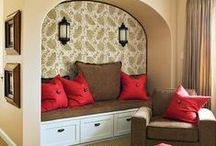Home - Window Seats, Benches, and Banquettes / Window seats, benches, banquettes - built in or not, with storage or without...