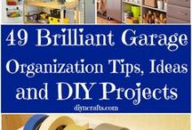 Home - Garage and Shed / inspiration board for organizing and arranging the garage and shed