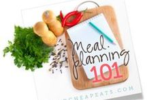 Menu Planning / Fun ideas and great tips for planning those weekly menus