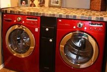 Home - Laundry Room / Spaces for washers dryers