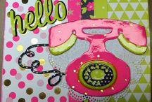 Telephone cards & tags / by Debi Pursley