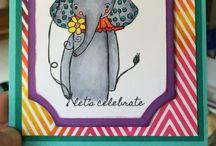 Elephant cards / by Debi Pursley